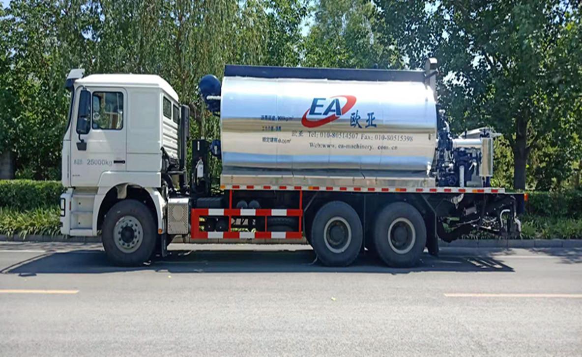 欧亚机械EA5250GLQMC4C1A (国VI)沥青洒布车高清图 - 外观
