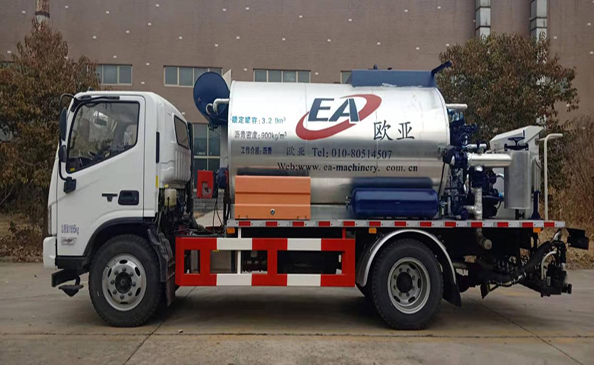 欧亚机械EA5120GLQFK (国VI)沥青洒布车高清图 - 外观