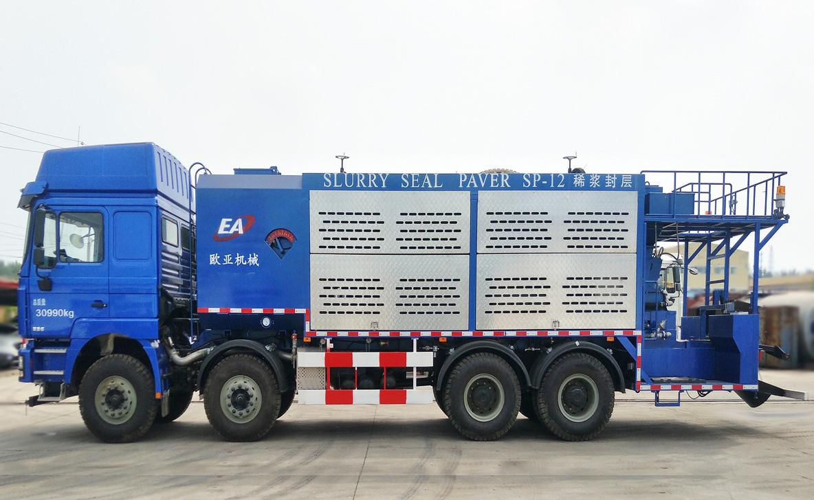欧亚机械EA5310TFCMC6Z1XJ (国VI)稀浆封层车高清图 - 外观