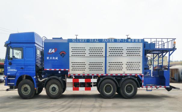 欧亚机械EA5310TFCMC6Z1XJ (国VI)稀浆封层车
