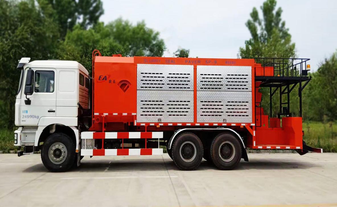 欧亚机械EA5250TFCMC4C1XJ (国VI)稀浆封层车高清图 - 外观