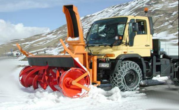 欧亚机械鼓风式抛雪机