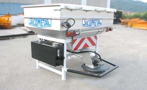欧亚机械小型除雪撒布机