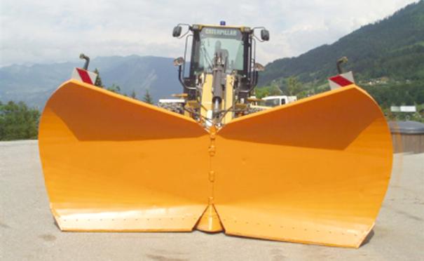 欧亚机械可变式V型除雪板