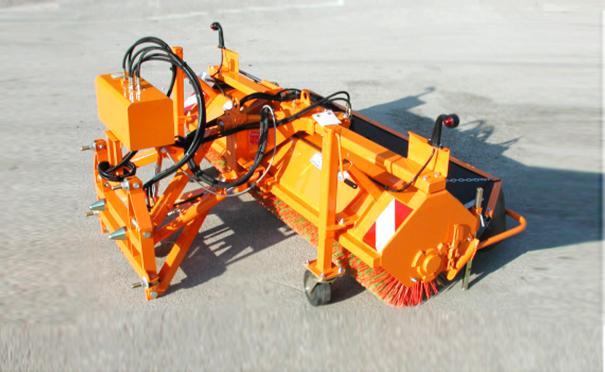 欧亚机械BL系列滚刷式除雪