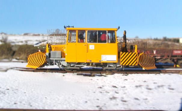 欧亚机械铁路除雪设备