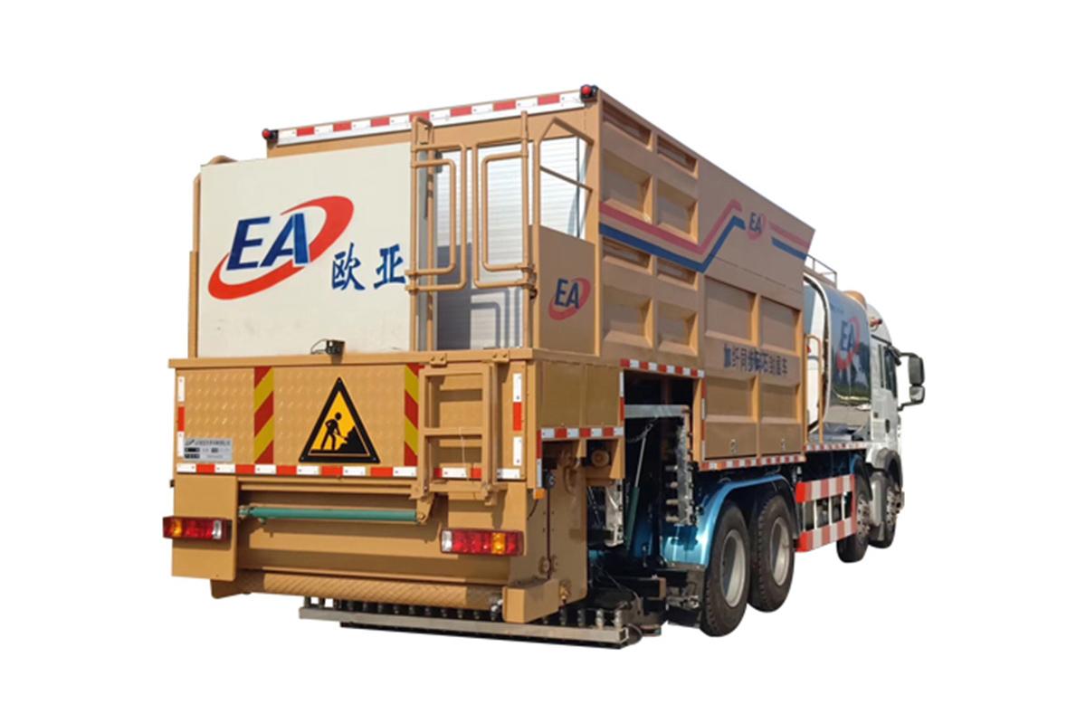 欧亚机械EA5316TFCN466GF1XW (国VI)纤维同步封层车高清图 - 外观