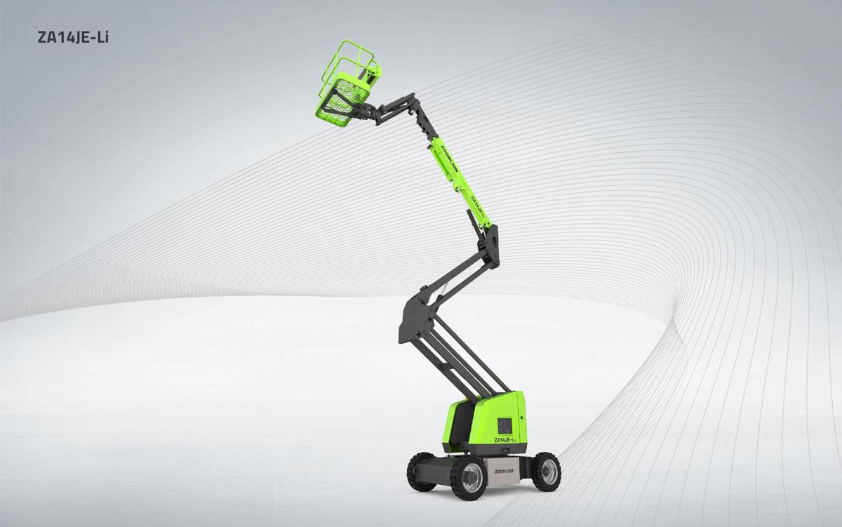中聯重科ZA14JE-Li曲臂式高空作業平臺高清圖 - 外觀