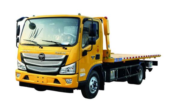 徐工XGS5080TQZB63吨平板清障车高清图 - 外观
