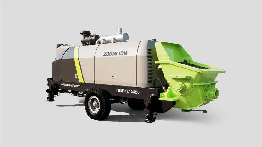 中联重科HBT80.16.174RSU柴油机砼泵