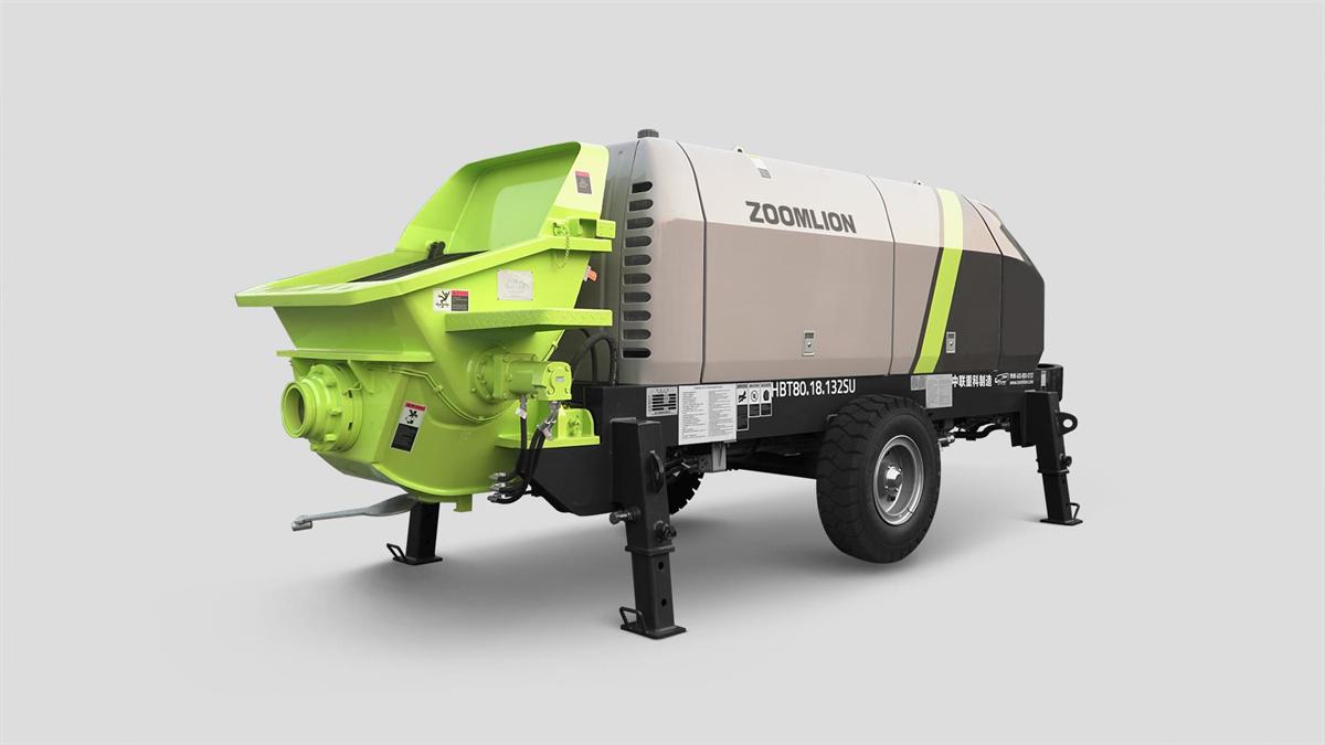 中联重科HBT80.18.132SU拖泵高清图 - 外观