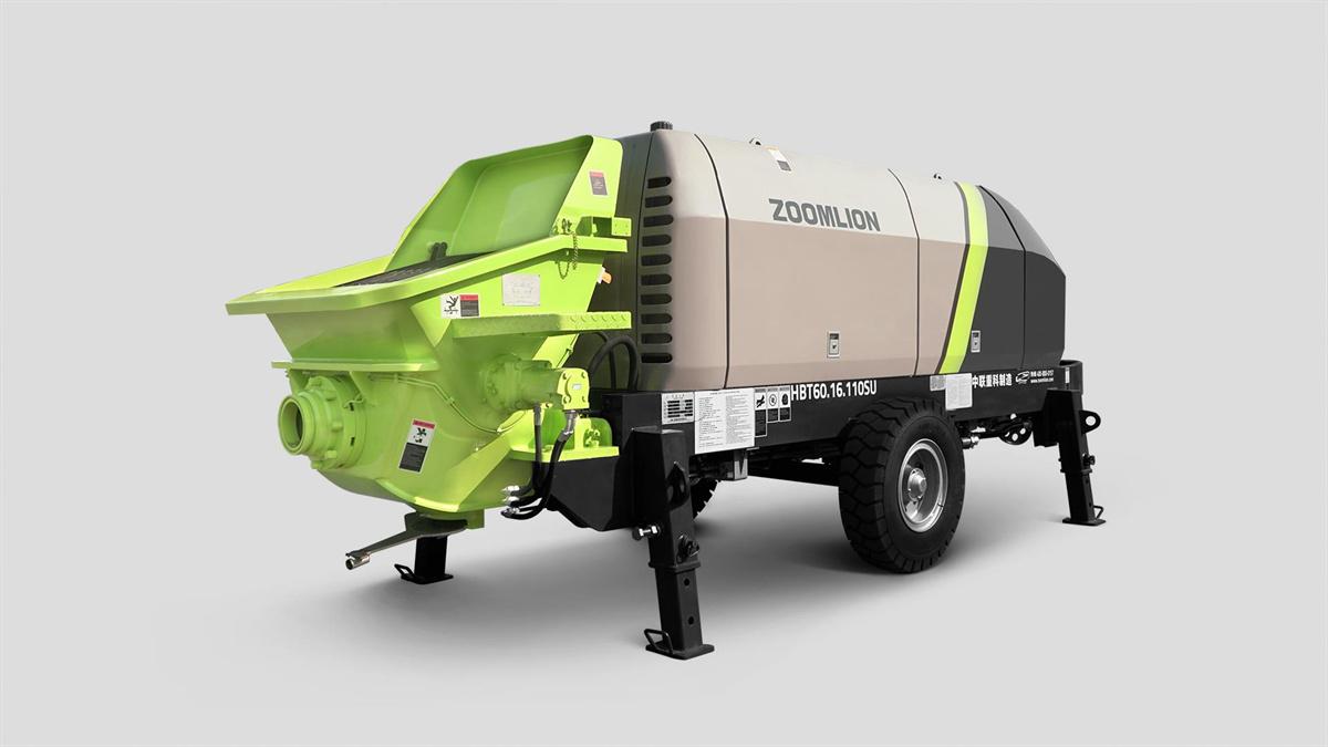中联重科HBT60.16.110SU拖泵高清图 - 外观