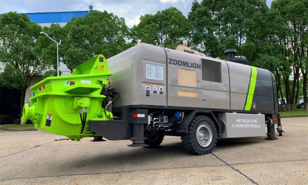 中联重科HBT110.26.372RS柴油机砼泵