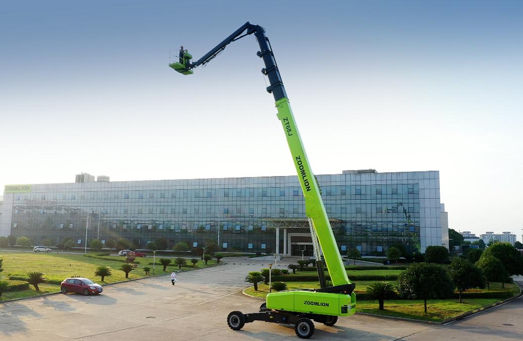 中聯重科ZT68J直臂式高空作業平臺高清圖 - 外觀