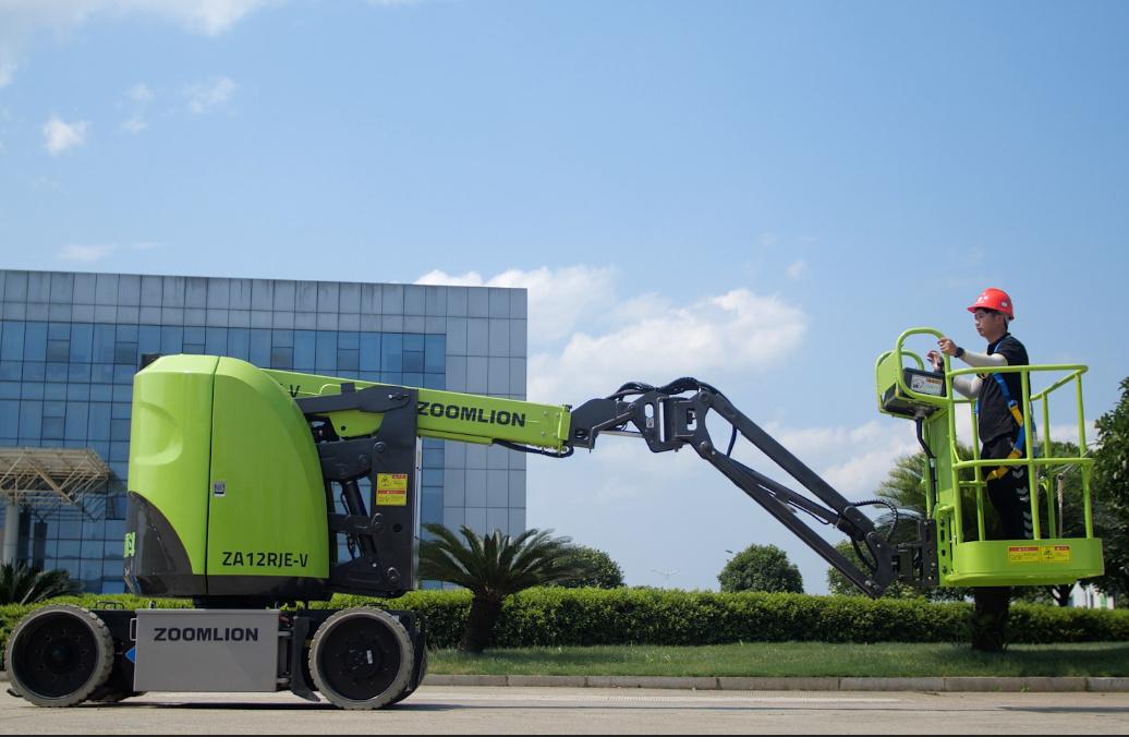 中聯重科ZA12RJE-V電動曲臂式高空作業平臺高清圖 - 外觀