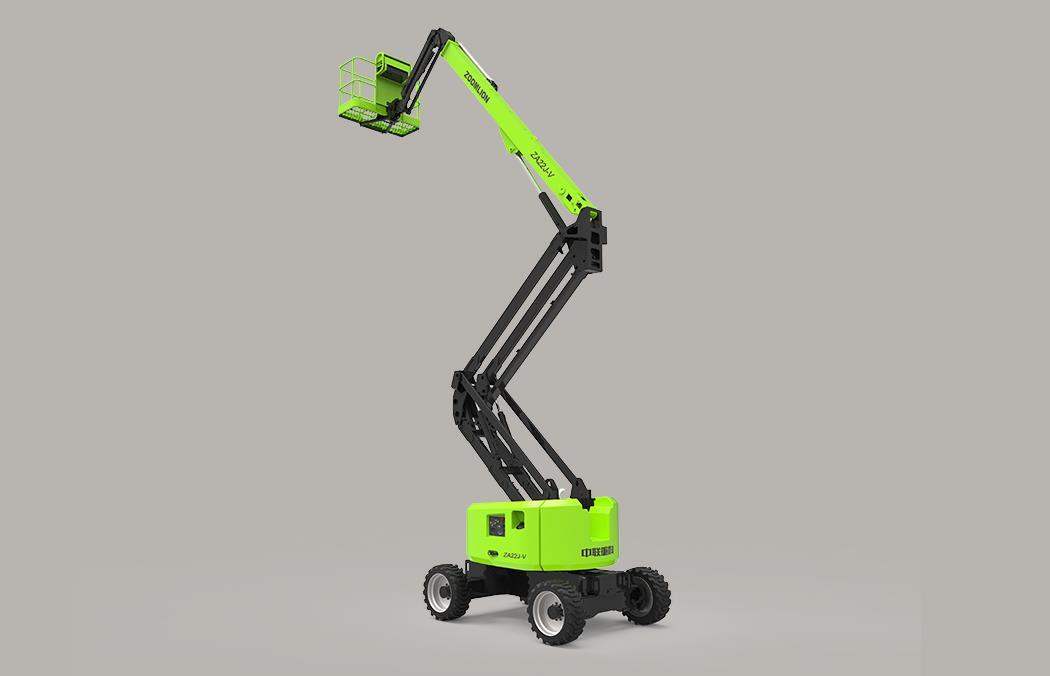 中聯重科ZA22J-V柴動曲臂式高空作業平臺高清圖 - 外觀