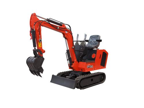 宜迅YX-10农用微型挖掘机