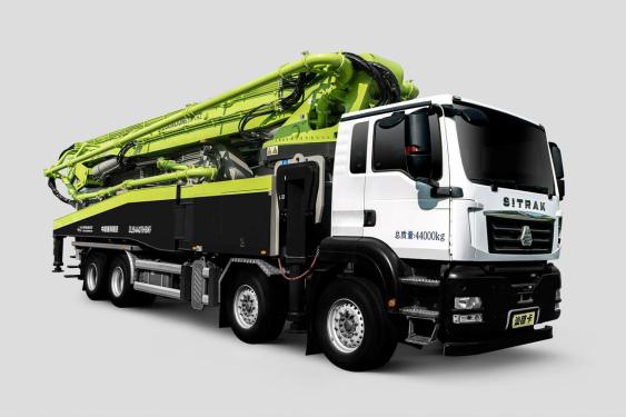 中联重科ZLJ5440THBKF 63X-7RZ四桥63M重汽汕德卡国六泵车