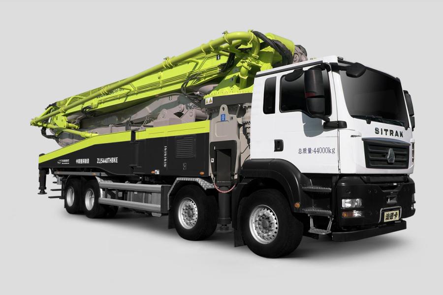 中联重科ZLJ5441THBKF 56X-6RZ四桥56M重汽汕德卡国六泵车