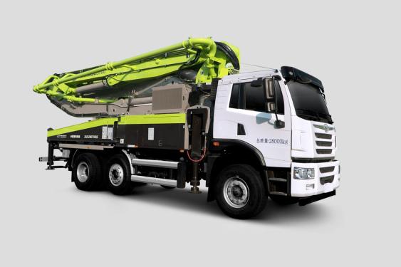 中联重科ZLJ5280THBJF 40X-5RZ2+1桥40M解放国六泵车