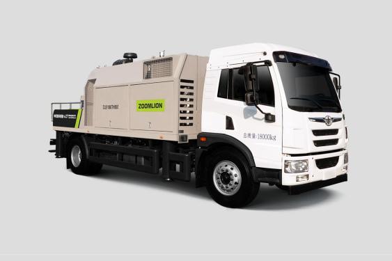 中联重科ZL J5180THBJF-10528R28MPa解放国六车载泵