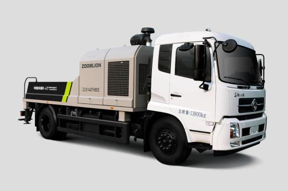 中联重科ZLJ5140THBEF-10022R22MPa东风国六车载泵