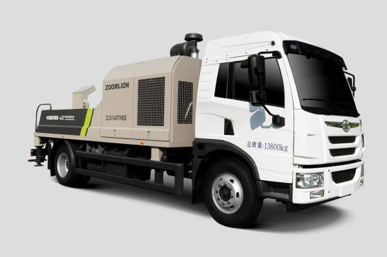 中联重科ZLJ5140THBJE-10022R22MPa解放国五/国六车载泵
