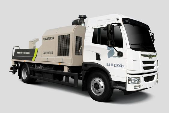 中联重科ZLJ5140THBJE-10020R20MPa解放国五/国六车载泵