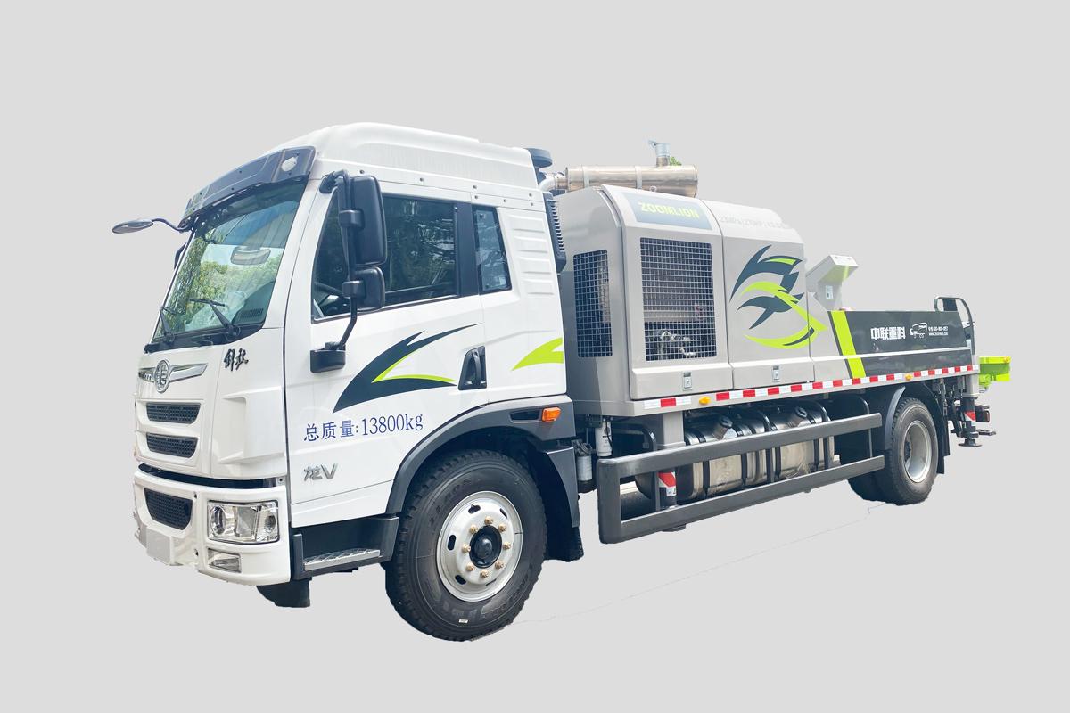 中聯重科ZLJ5140THBEF-10023R23MPa東風車載泵高清圖 - 外觀