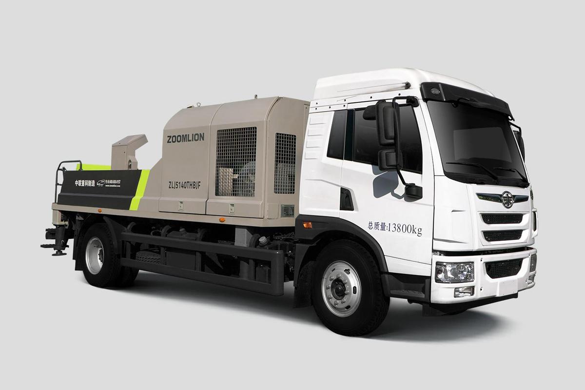 中聯重科ZL J5140THBJF-8016M16MPa解放國六車載泵高清圖 - 外觀