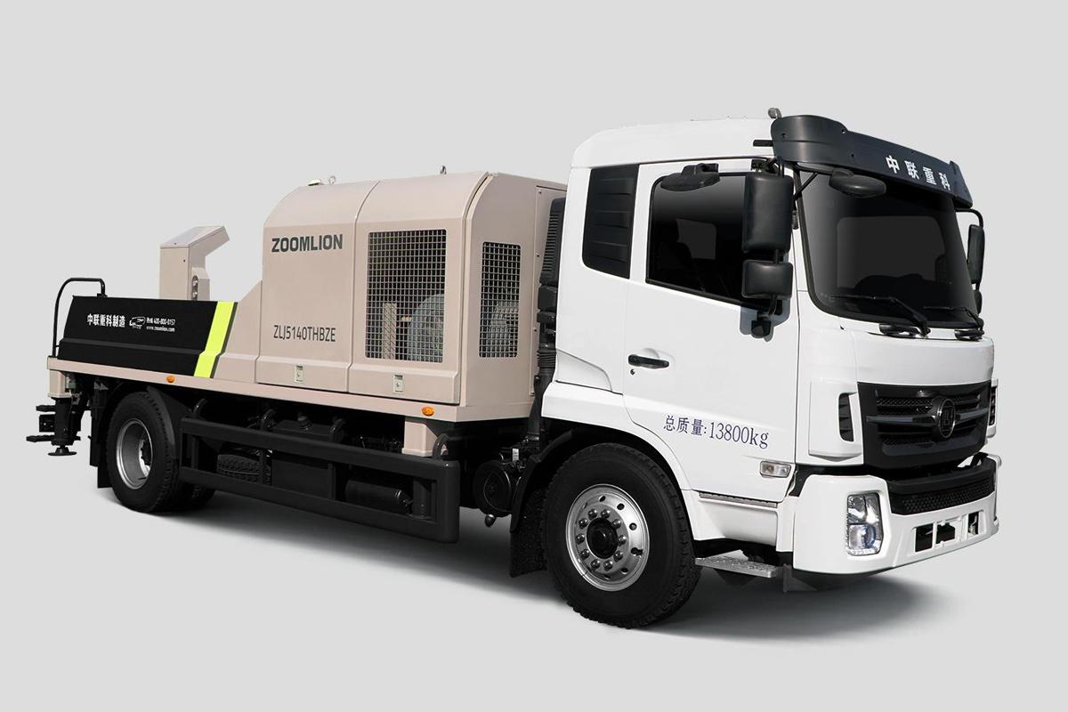中聯重科ZL J5140THBZE-8016M16MPa邦樂國五車載泵高清圖 - 外觀