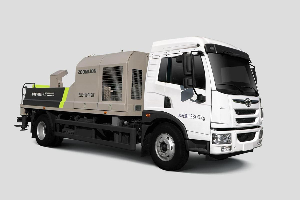 中聯重科ZLJ5140THBJF-9014M14MPa解放國六車載泵高清圖 - 外觀