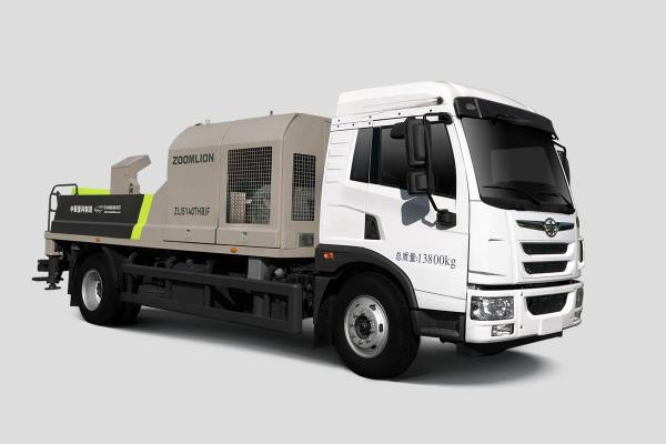 中联重科ZLJ5140THBJF-9014M14MPa解放国六车载泵