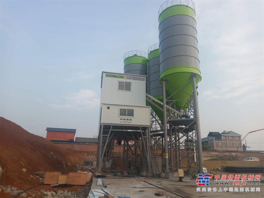 中聯重科HZS240E混凝土攪拌站高清圖 - 外觀
