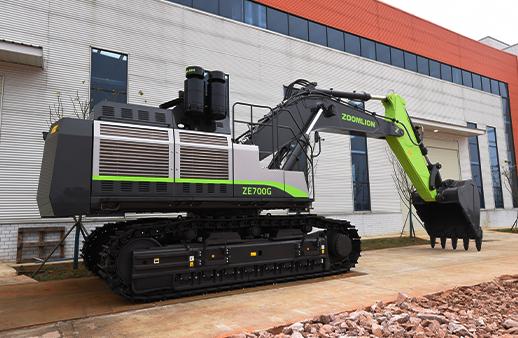 中聯重科ZE700GC礦用挖掘機高清圖 - 外觀