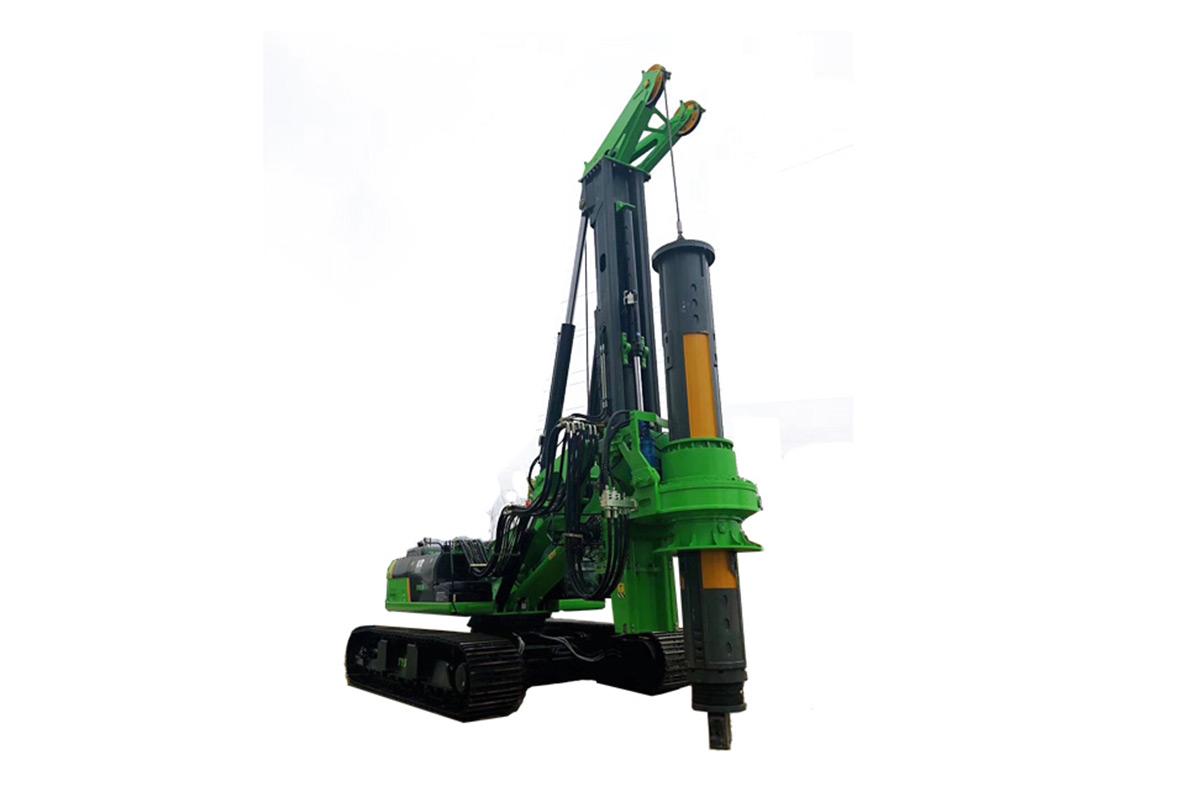 泰信機械KR285CCAT底盤式全液壓旋挖鉆機(矮版旋挖)高清圖 - 外觀
