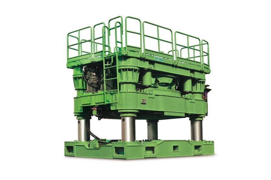 泰信机械DTR-1305全回转全套管钻机