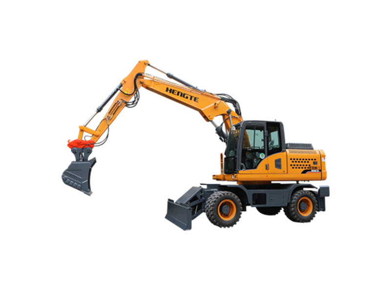 恒特HT185W轮式挖掘机高清图 - 外观