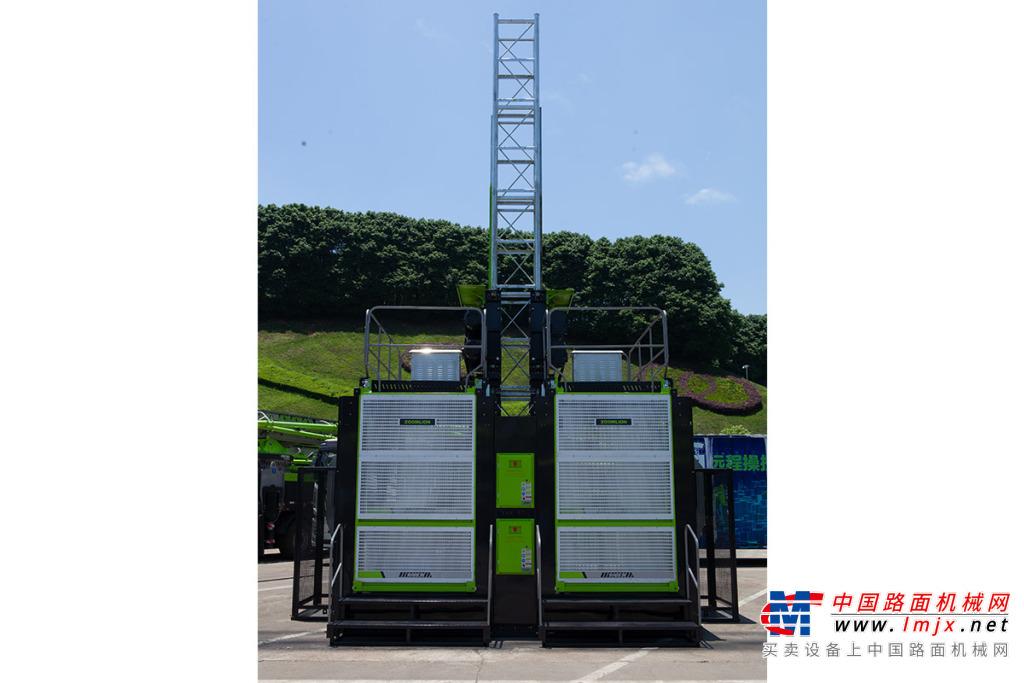中联重科SC200/200EB-A(4S2050)节能型低速变频施工升降机高清图 - 外观