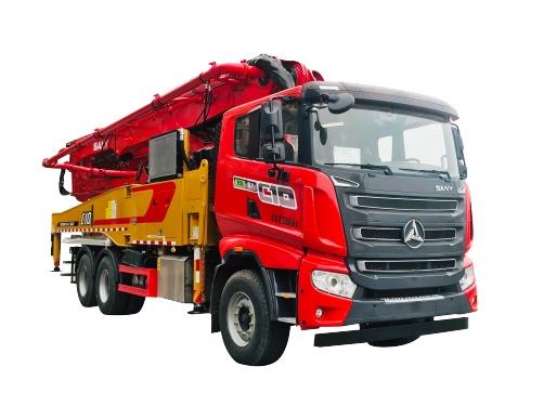 三一重工SYM5345THB 490C-10泵车高清图 - 外观