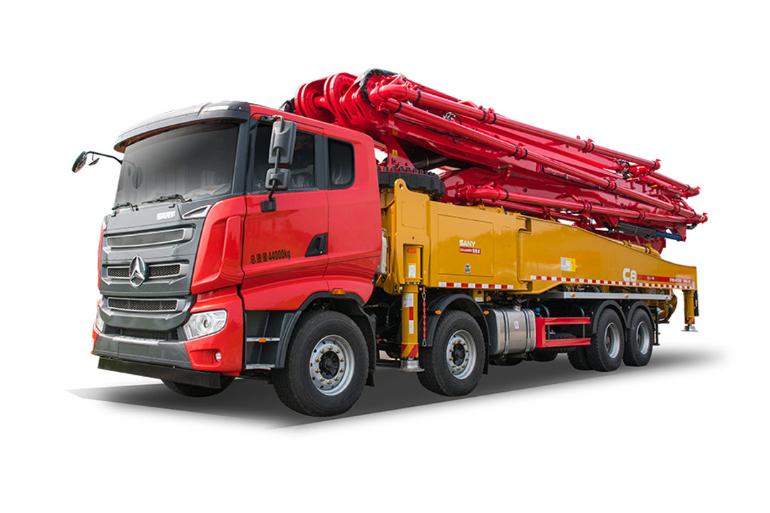 三一重工SYM5445THBFS 560C-8A混凝土泵車高清圖 - 外觀