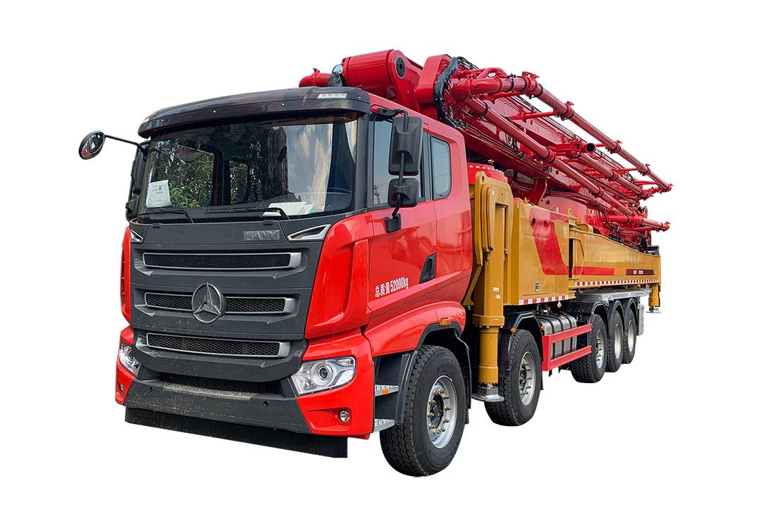 三一重工SYM5525THBFS 650C-10泵車高清圖 - 外觀
