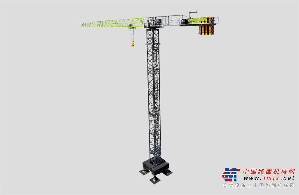 中聯重科W450-25U平頭塔式起重機高清圖 - 外觀