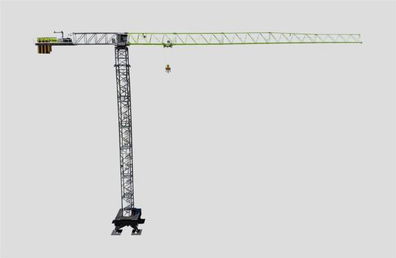 中联重科T2850-120/160V超大型平头塔式起重机高清图 - 外观
