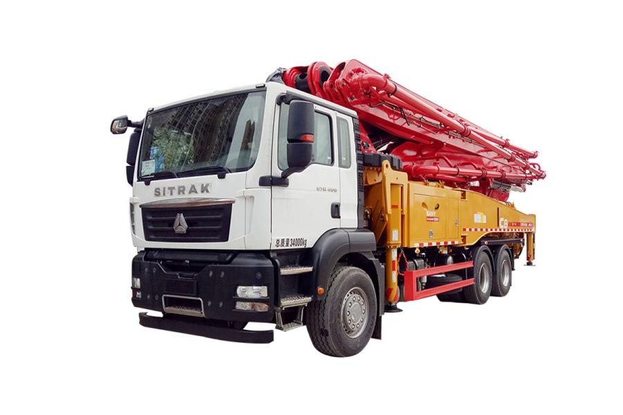 三一重工SYM5343THB 470C-8混凝土泵车