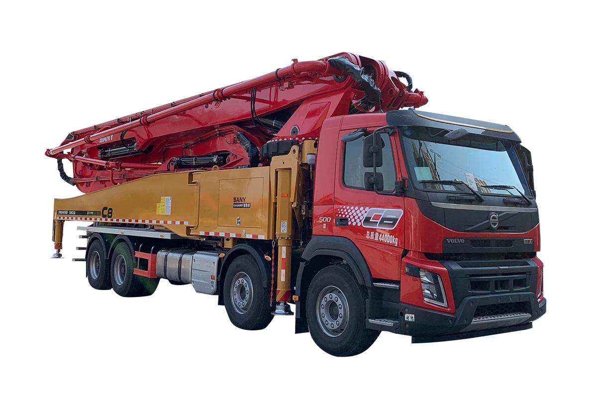 三一重工SYM5446THBF 560C-8A混凝土泵車高清圖 - 外觀