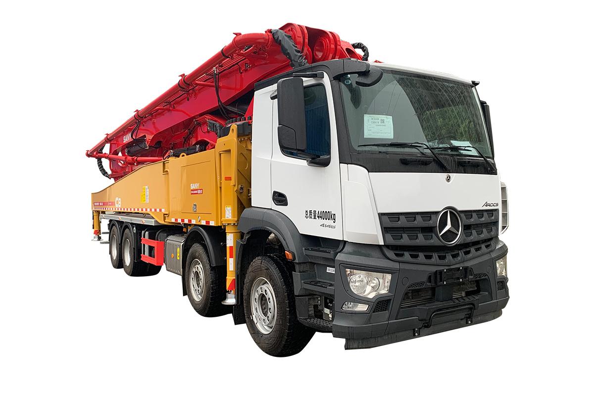 三一重工SYM5449THBF 560C-8A混凝土泵車高清圖 - 外觀