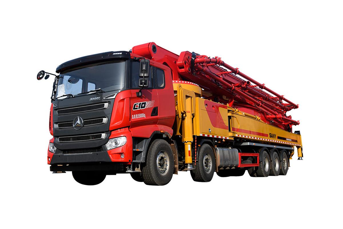 三一重工SYM5540THBF 680C-1068米混凝土泵車高清圖 - 外觀