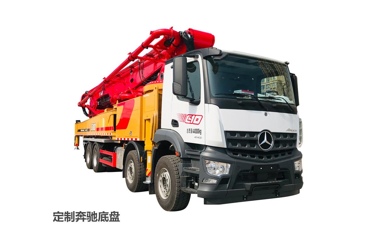 三一重工SYM5442THBFB 620C-10A62米混凝土泵車高清圖 - 外觀