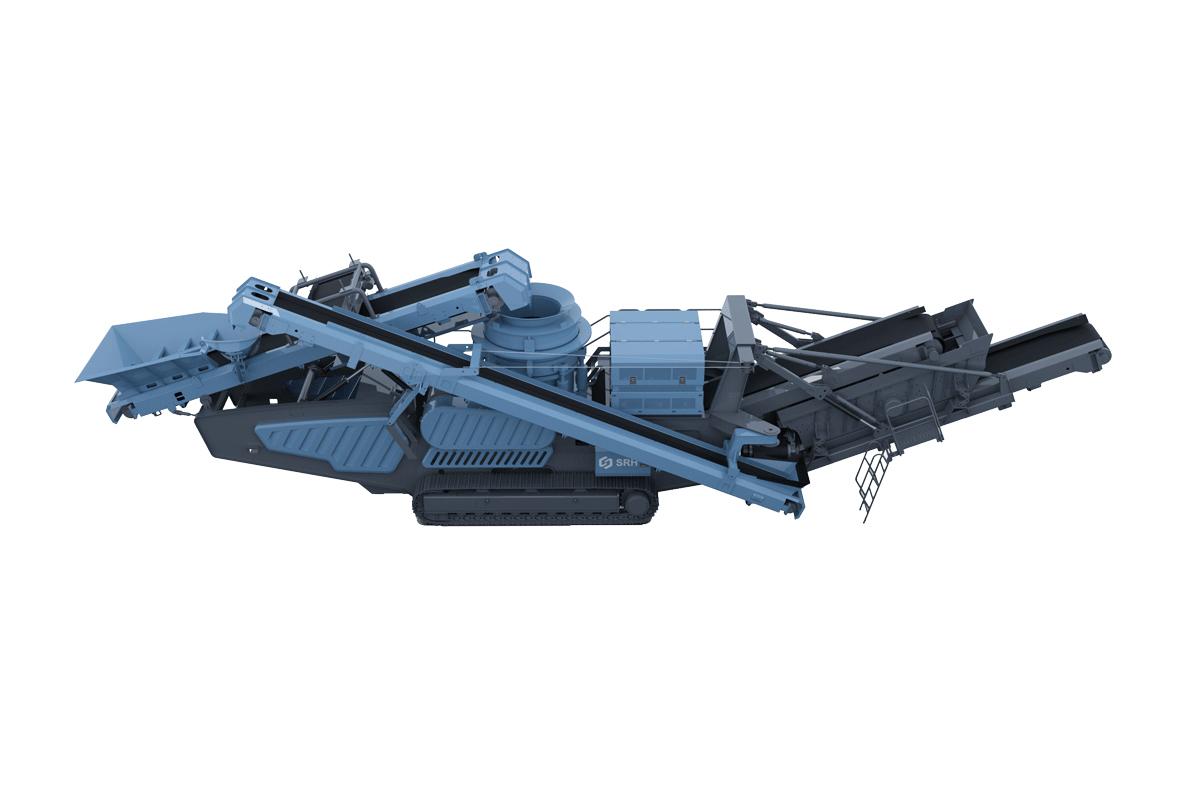 韶瑞重工c-3000移动圆锥式破碎设备高清图 - 外观